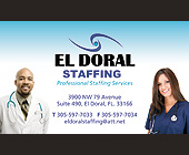 El Doral Staffing - tagged with doral