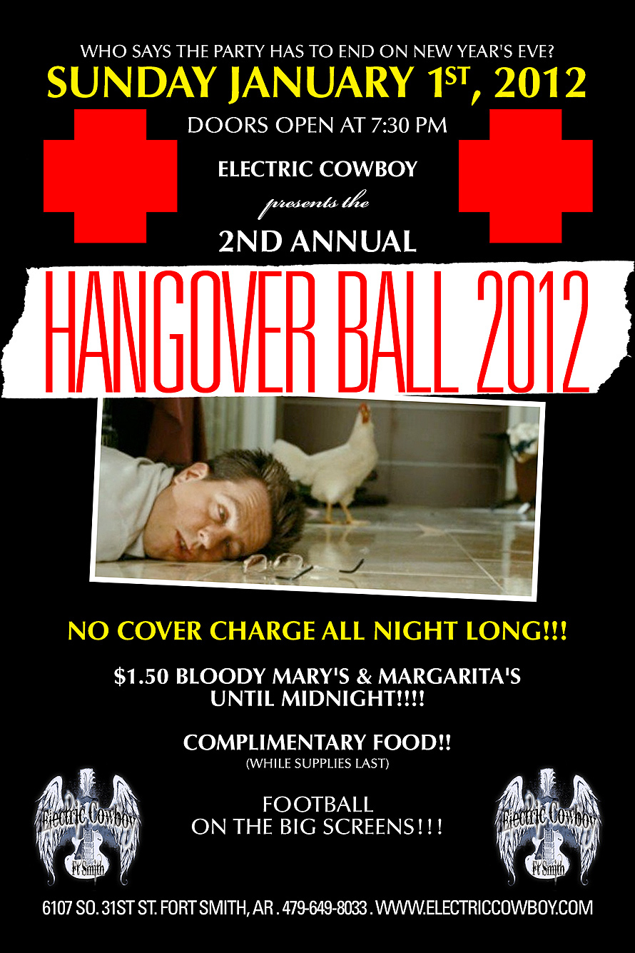 Hangover Ball and New Years Eve