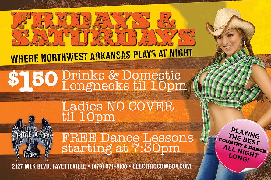 Where Northwest Arkansas Plays at Night
