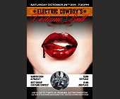 Electric Cowboy's Costume Ball - Electric Cowboy Graphic Designs