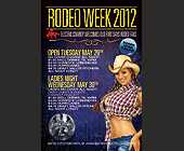 Rodeo Week 2012 - tagged with every night