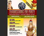 Electric Cowboy Thanksgiving Eve Party - tagged with 479.649.8033