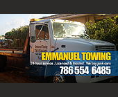 Emmanuel Towing - tagged with licensed