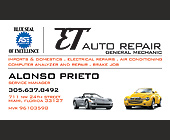 ET Auto Repair - Professional Services