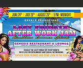 Caribbean Summer Splash After Work Jam - Restaurant