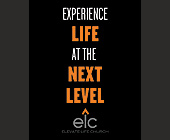 Elevate Church Experience Life at the Next Level - Religious Graphic Designs