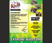 Extreme Kids Extreme Bounce - 2550x3300 graphic design
