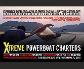 Xtreme Powerboat Charters - North Miami Graphic Designs