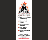 Family Fire Protection Where We Treat You Like Family - 1050x2550 graphic design