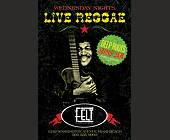 Live Reggae Wednesday at Felt - 2700x1800 graphic design