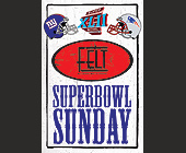 Superbowl Sunday at Felt - client Felt