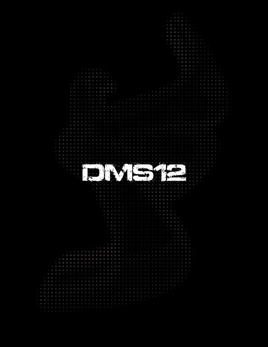 DMS12 Promotional Diecut