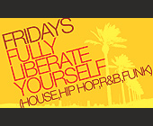 Fridays Fully Liberate Yourself - house Graphic Designs
