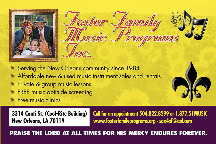 Foster Family Music Programs Inc.