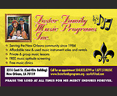 Foster Family Music Programs Inc. - New Orleans Graphic Designs