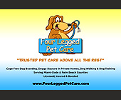 Four Legged Pet Care - West Palm Beach Graphic Designs