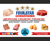 Four Star Poultry and Provision Company - Agriculture and Farming Graphic Designs