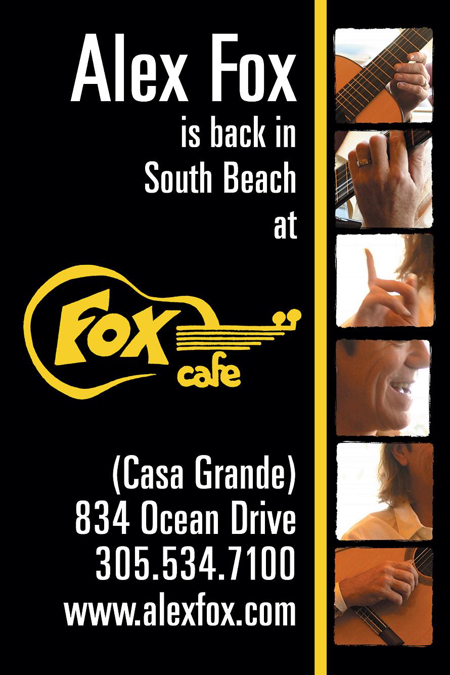 Alex Fox is Back at Fox Cafe