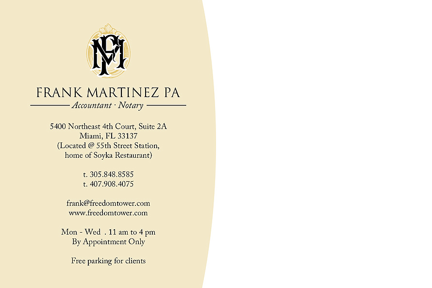Accountant and Notary Services