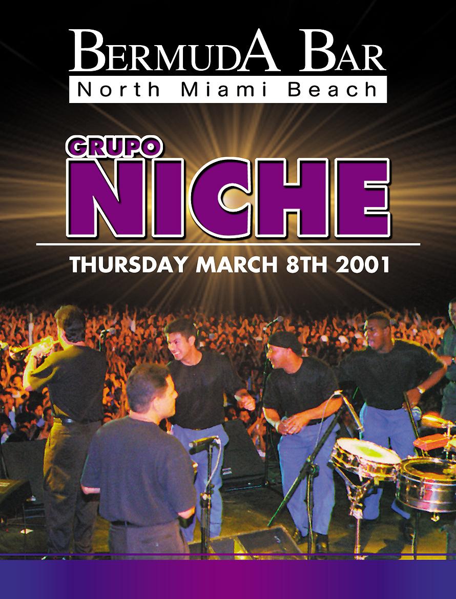 Bermuda Bar Grupo Niche Live
