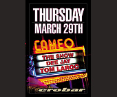 Cameo at Crobar - tagged with 305 531 8225
