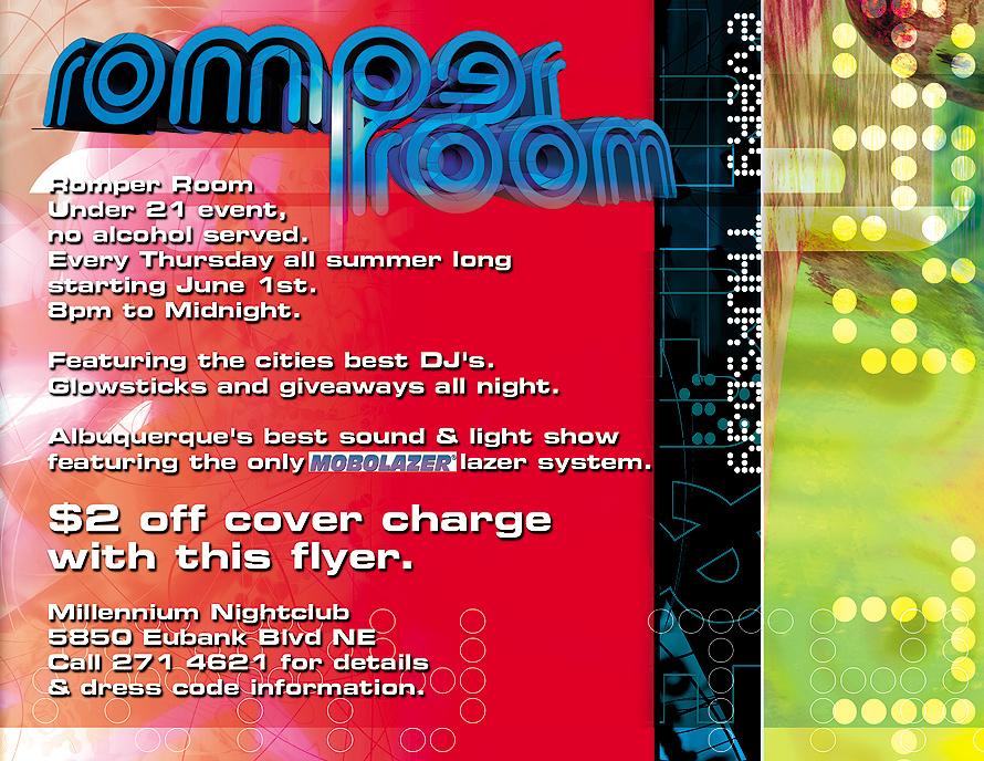 Millennium Nightclub Romper Room