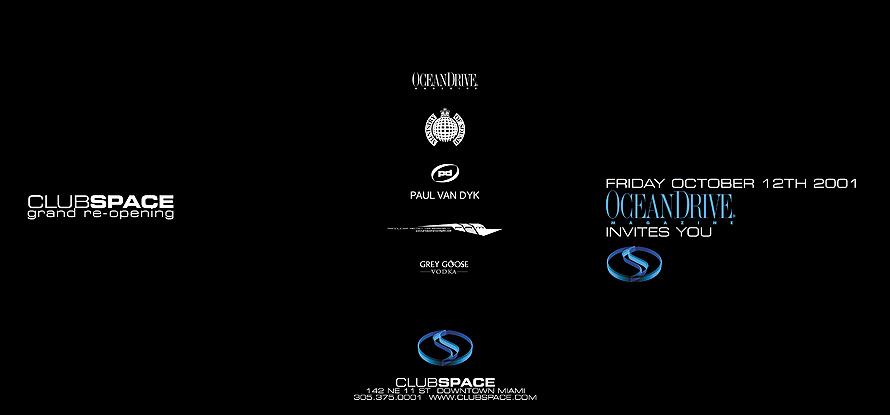 Ocean Drive Club Space Grand Re-Opening