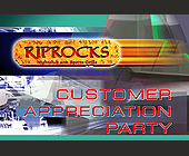 Riprocks Customer Appreciation Party - tagged with abstract background