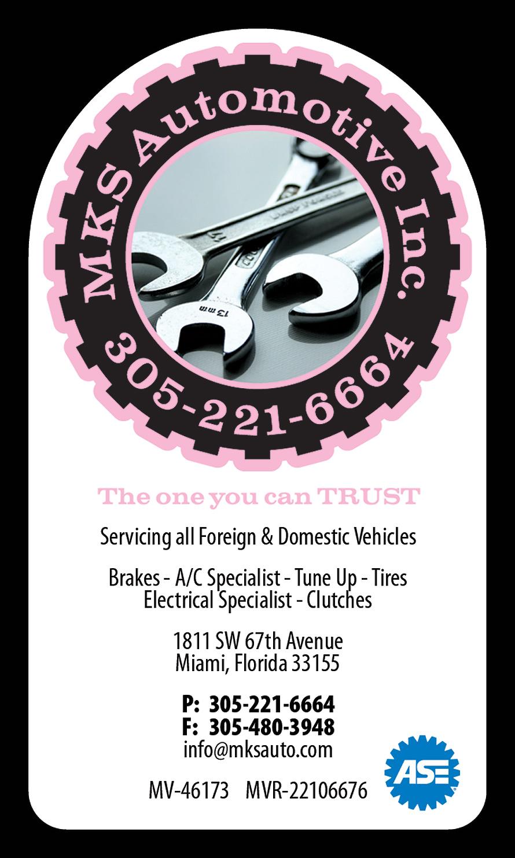 MKS Automotive Inc.