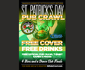 St Patrick's Day Pub Crawl - tagged with for more info