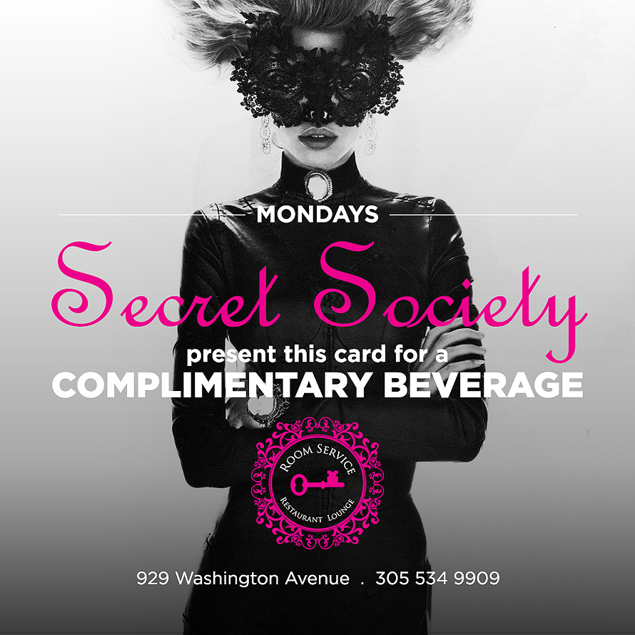Secret Society Mondays
