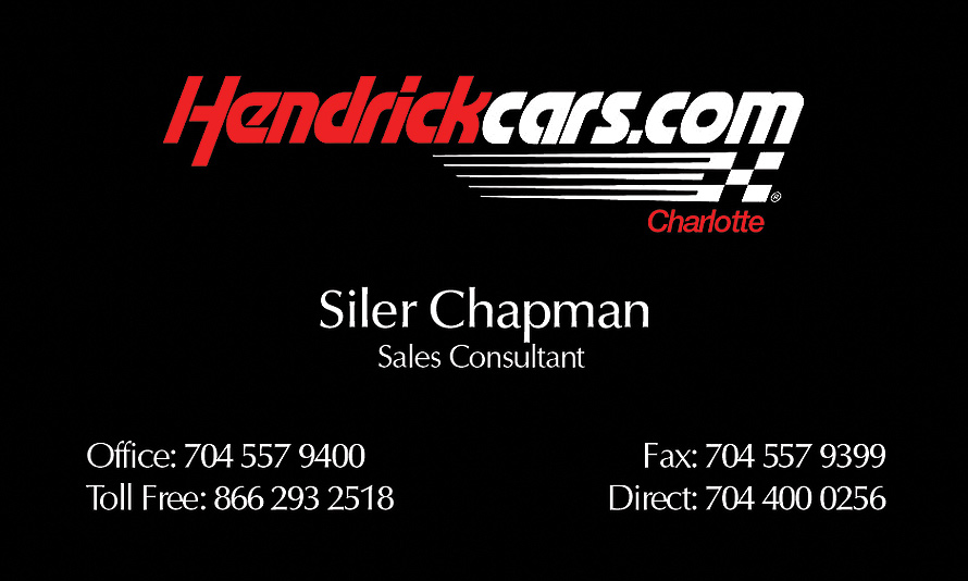 Siler Chapman Hendrick Cars