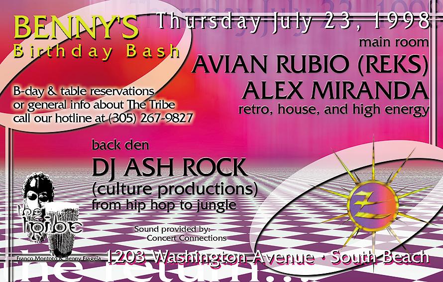 Asylum at Club Zen in Miami Beach