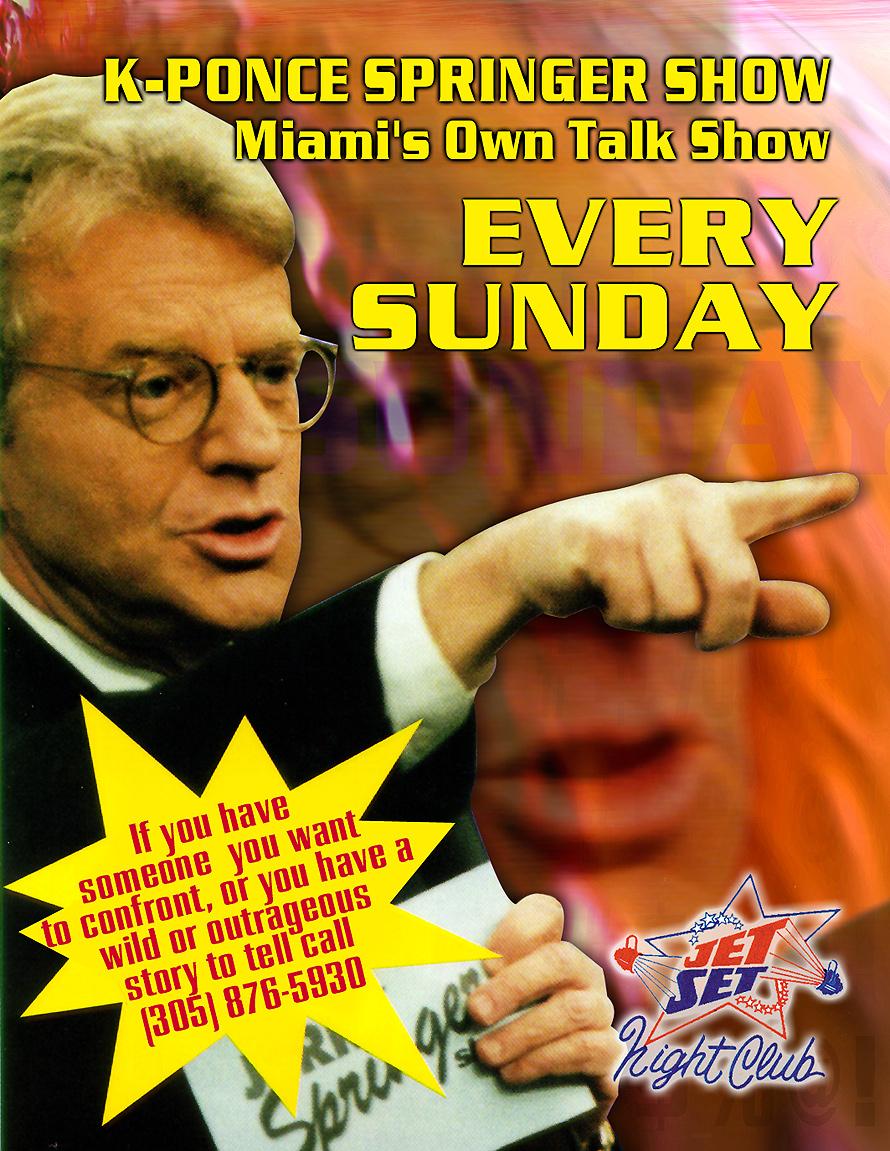 K-Ponce Springer Show Miami