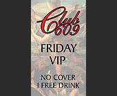 Club 609 Coconut Grove VIP Friday - Bars Lounges