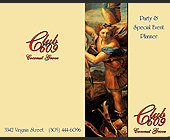 Party and Special Event Planner Club 609 Coconut Grove - 2063x2625 graphic design