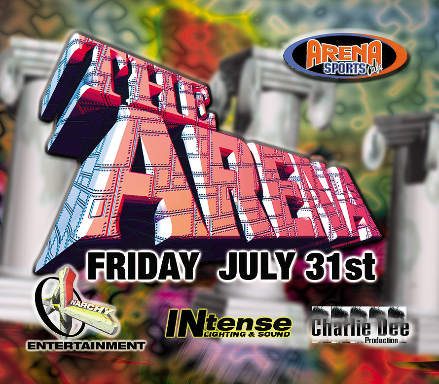 Arena Sports Cafe Miami Weekend Blast Off Party