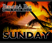 Bermuda Bar Sundays - Bermuda Bar Graphic Designs