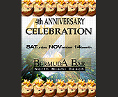 Fourth Anniversary of Bermuda Bar - tagged with 305.945.0196