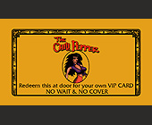 The Chili Pepper VIP Preferred Guest Card - Bars Lounges