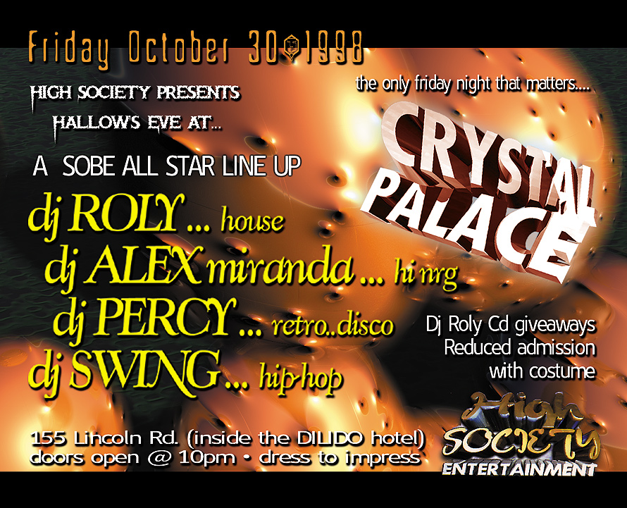 Trip or Treat  at Crystal Palace Miami Beach
