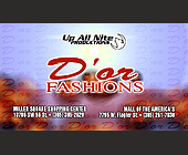 Up All Nite Productions Presents D'or Fashions - Bars Lounges