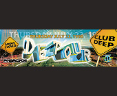 Club Deep Detour - tagged with x