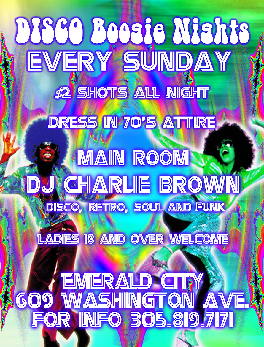 Boogie Nights at Emerald City