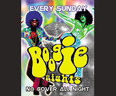 Boogie Nights at Emerald City - tagged with disco ball