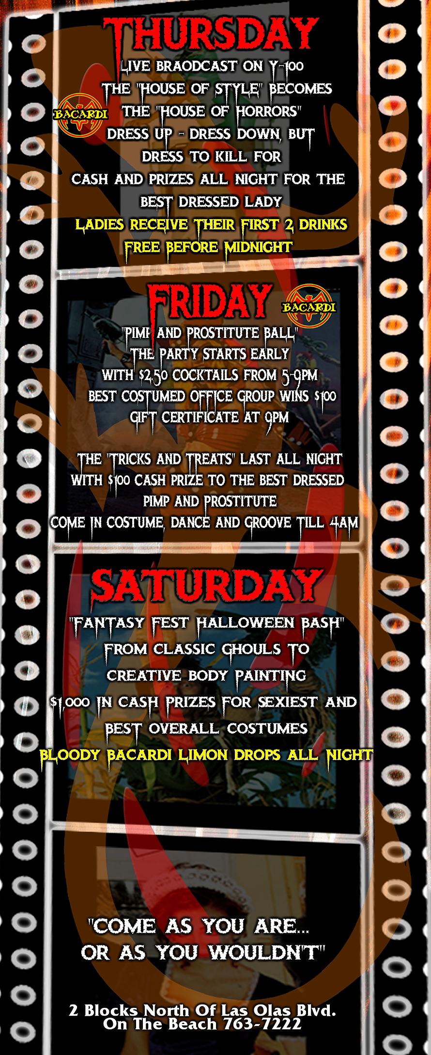 Cafe Iguana Presents Halloween Fantasy Fest