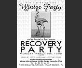 Winter Party Week at Warsaw - 1400x1000 graphic design