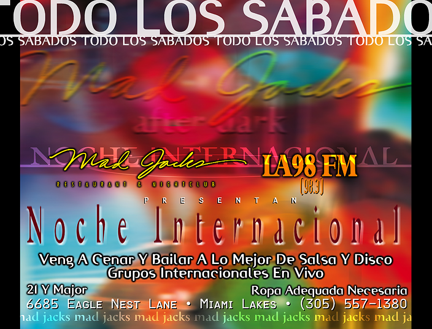 Every Saturday Noche Internacional