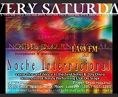 Every Saturday Noche Internacional - Mad Jacks Graphic Designs