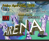 Arena Battle of the Greeks at KGB Lounge - Bars Lounges